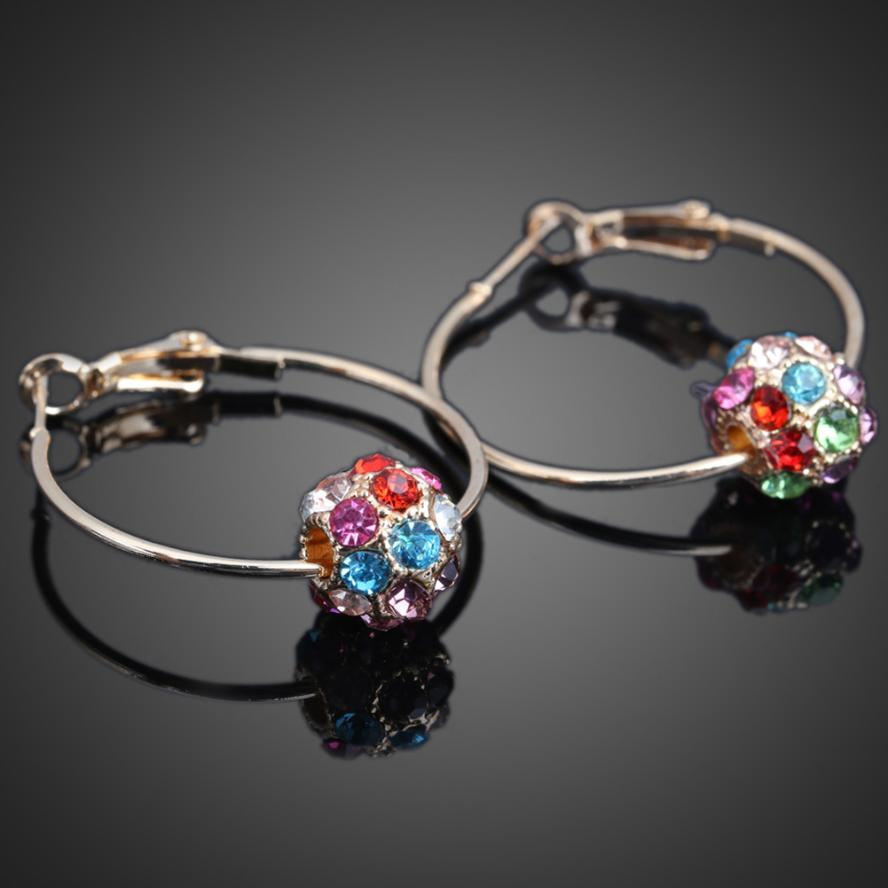 Women Special Promotion Pair Of Big Ring Style Ear Hoops