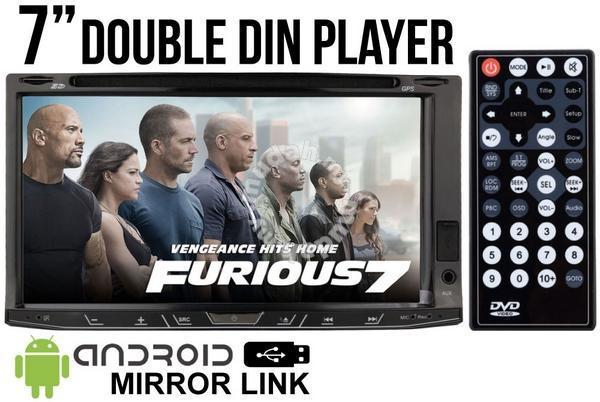 SKY AUDIO 7 Inch 2-Din Full HD DVD Camera and TV