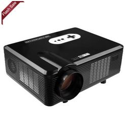 Excelvan CL720D LED Projector with Digital TV Slot  –  EU PLUG  BLACK 1026