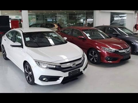 2017 Honda NEW Civic 1.8 (A) 1.5 full loan in Johor