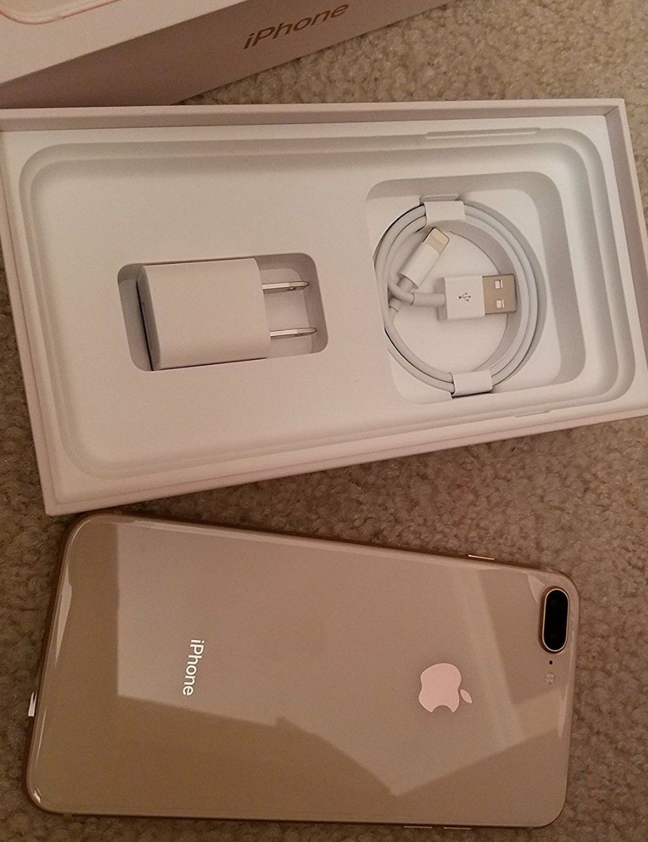 New Apple iPhone 8 Plus in 256gb Gold Unlocked