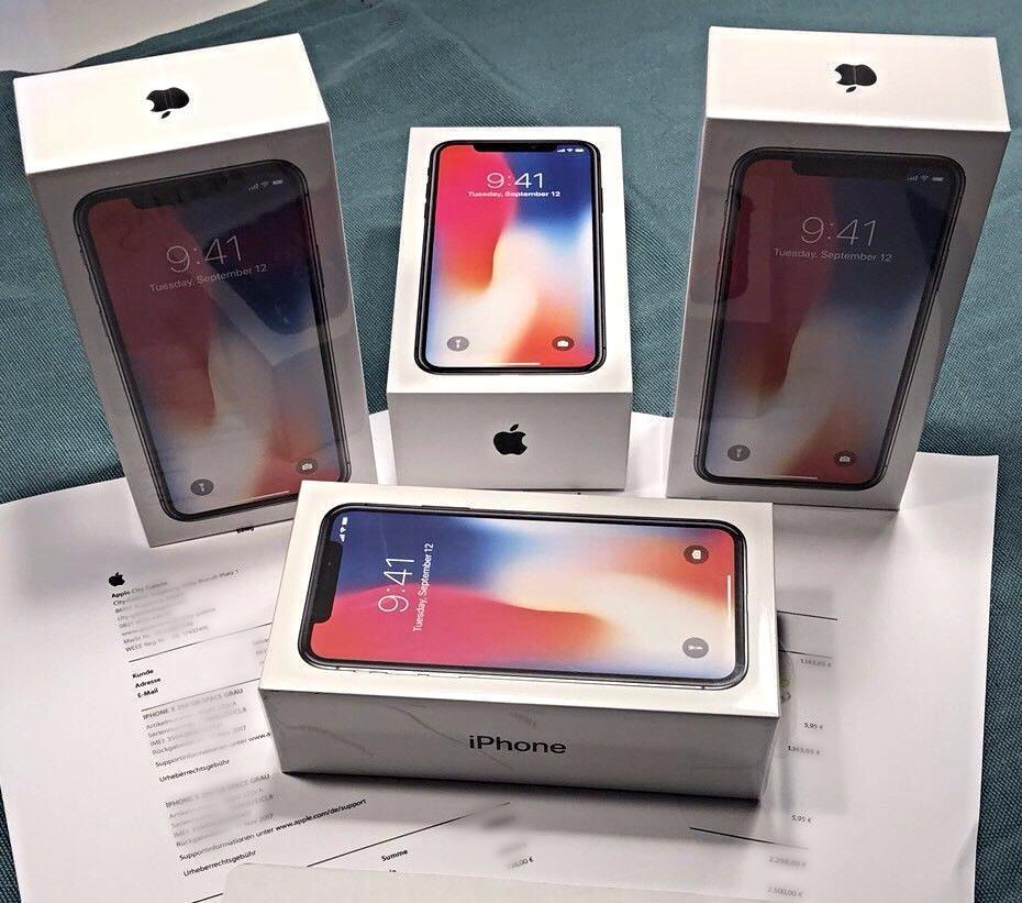 Apple iPhone X & 8-8 Plus Unlocked Whats App  +201117489636