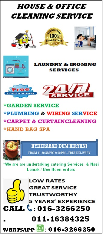 House & office cleaning services