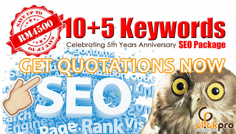Sign up a SEO package today with great offer NOW