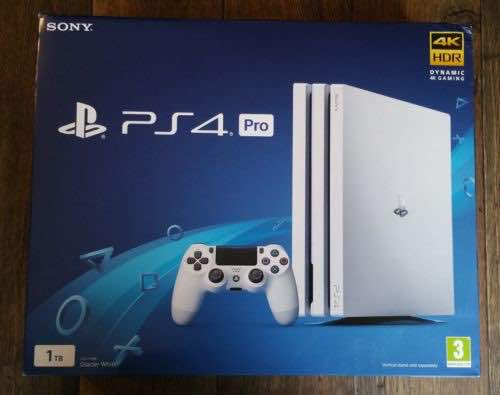New Playstation 4 Pro 1TB