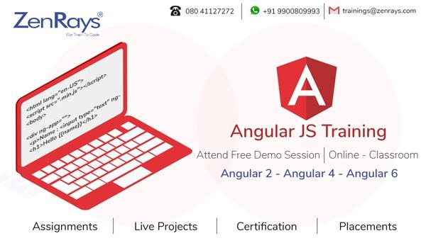 Best hands-on Angular Training in Bangalore