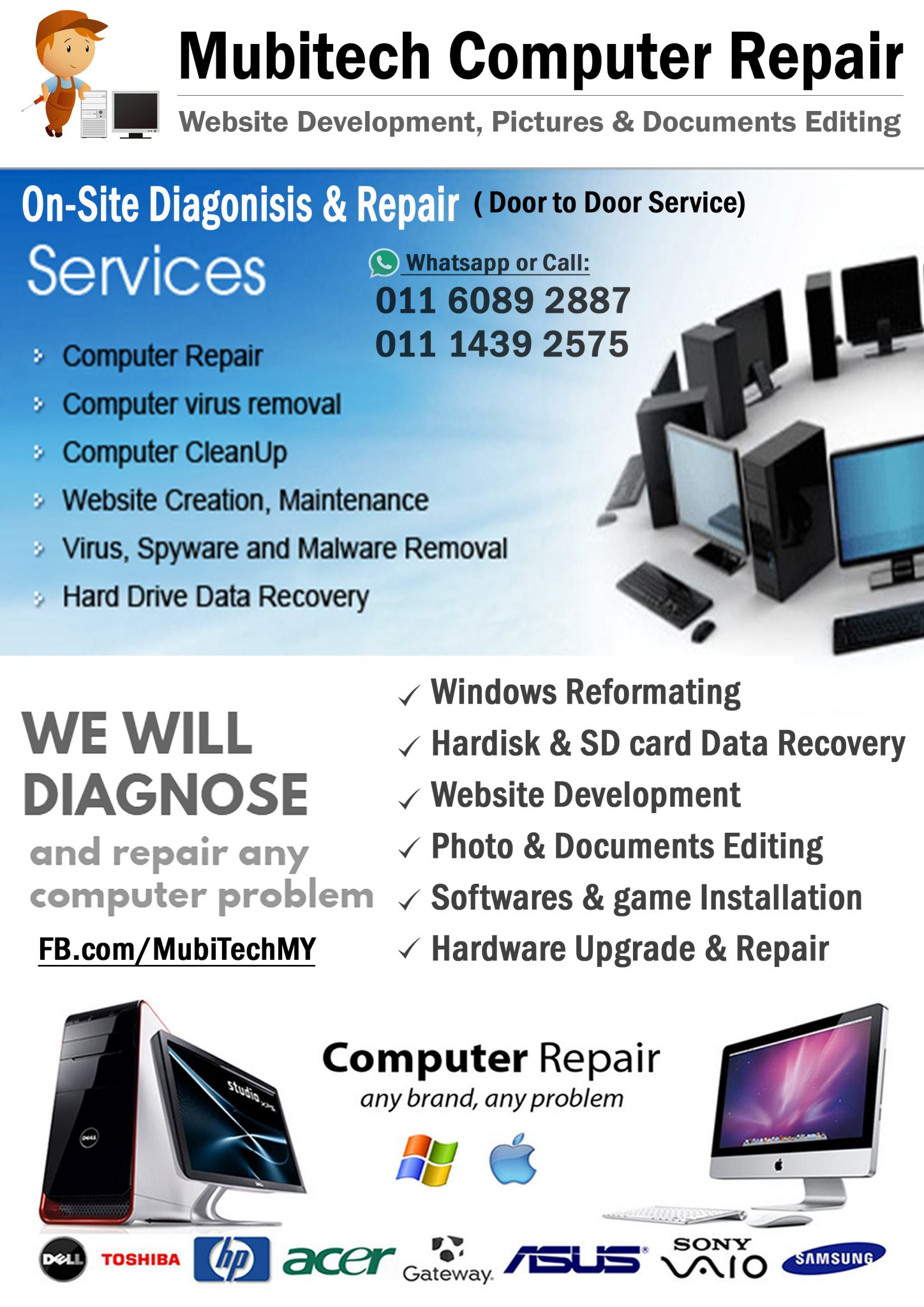 Mubitech Computer Service & Website Developer