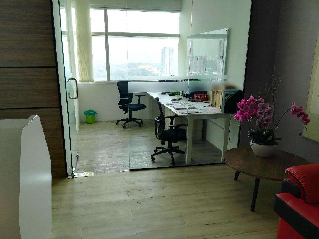 Q Sentral Fully Furnished Office For Rent