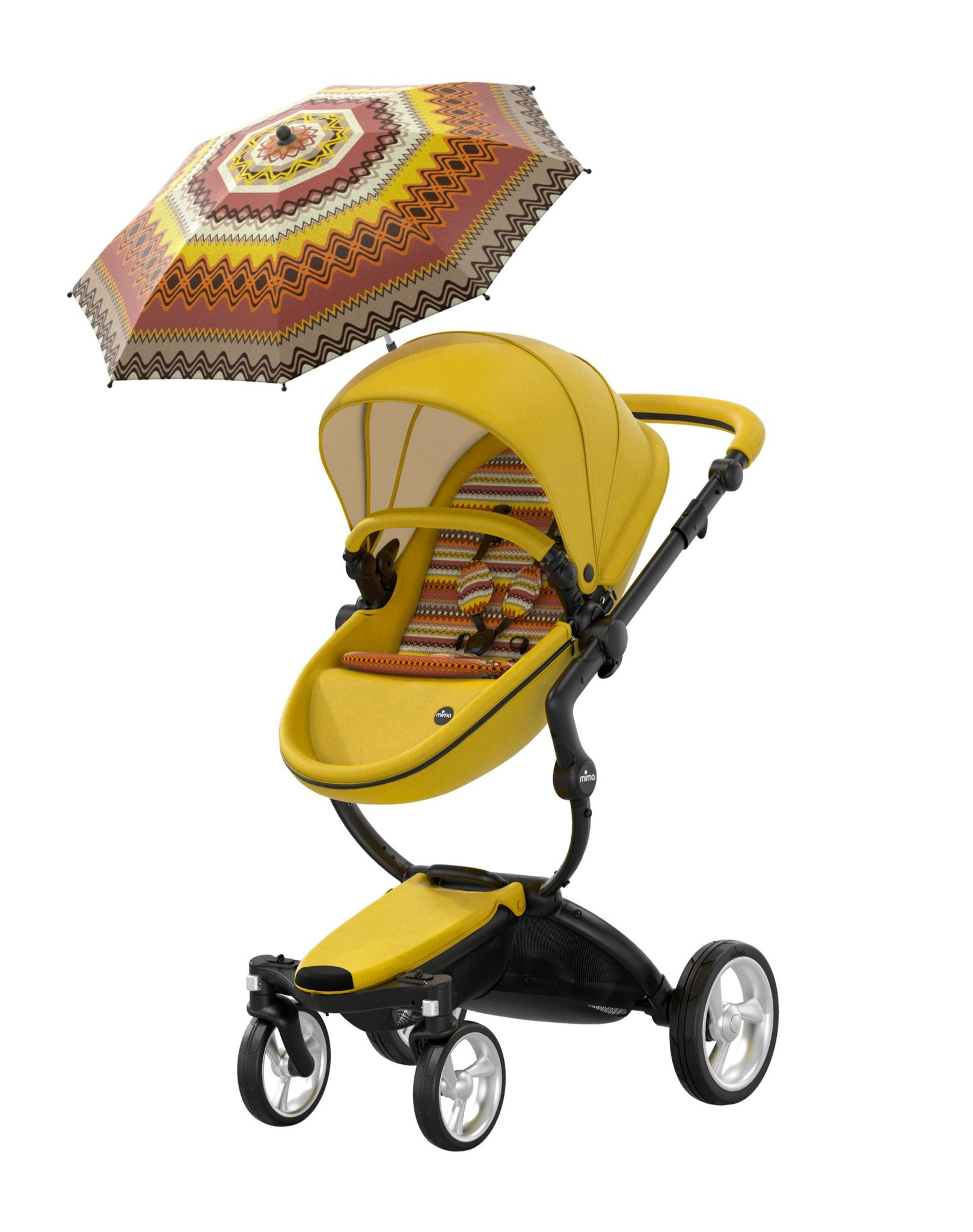 MIMA XARI YELLOW LIMITED EDITION STROLLER