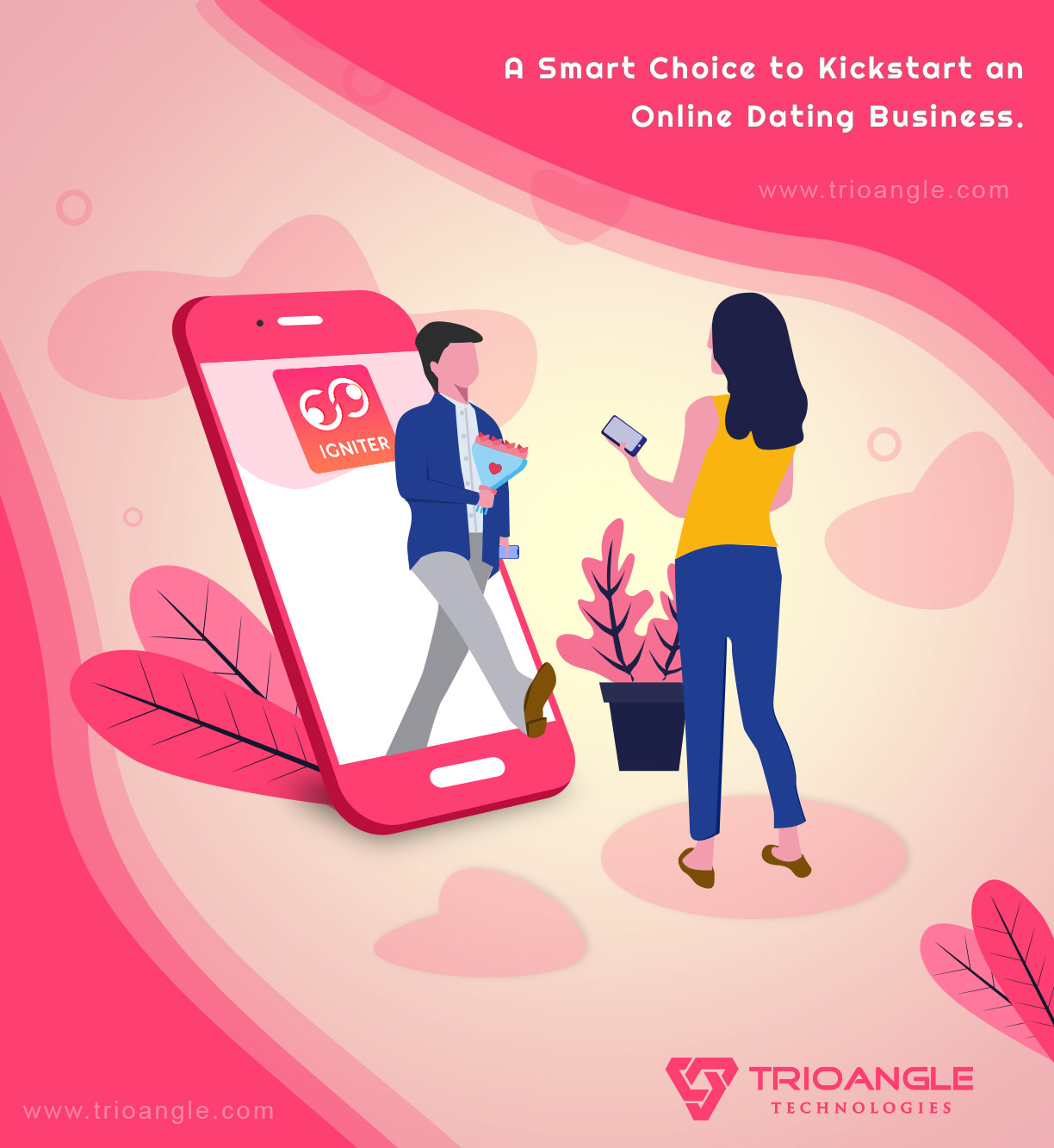 On-demand dating app – Igniter – Tinder Clone