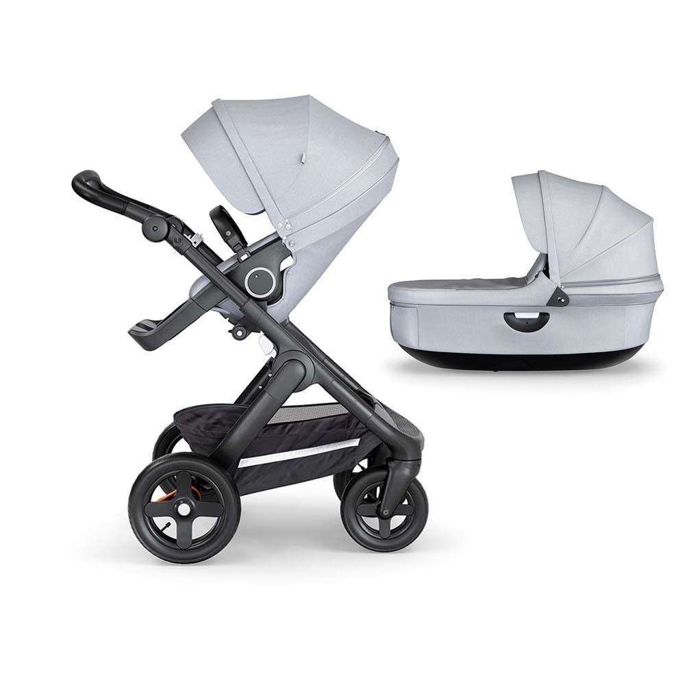 Stokke® Trailz™ Black Complete Grey Melange – Choose Your Chassis