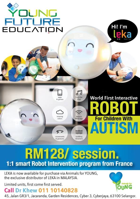 WORLD FIRST INTERACTIVE ROBOT FOR CHILDREN WITH AUTISM