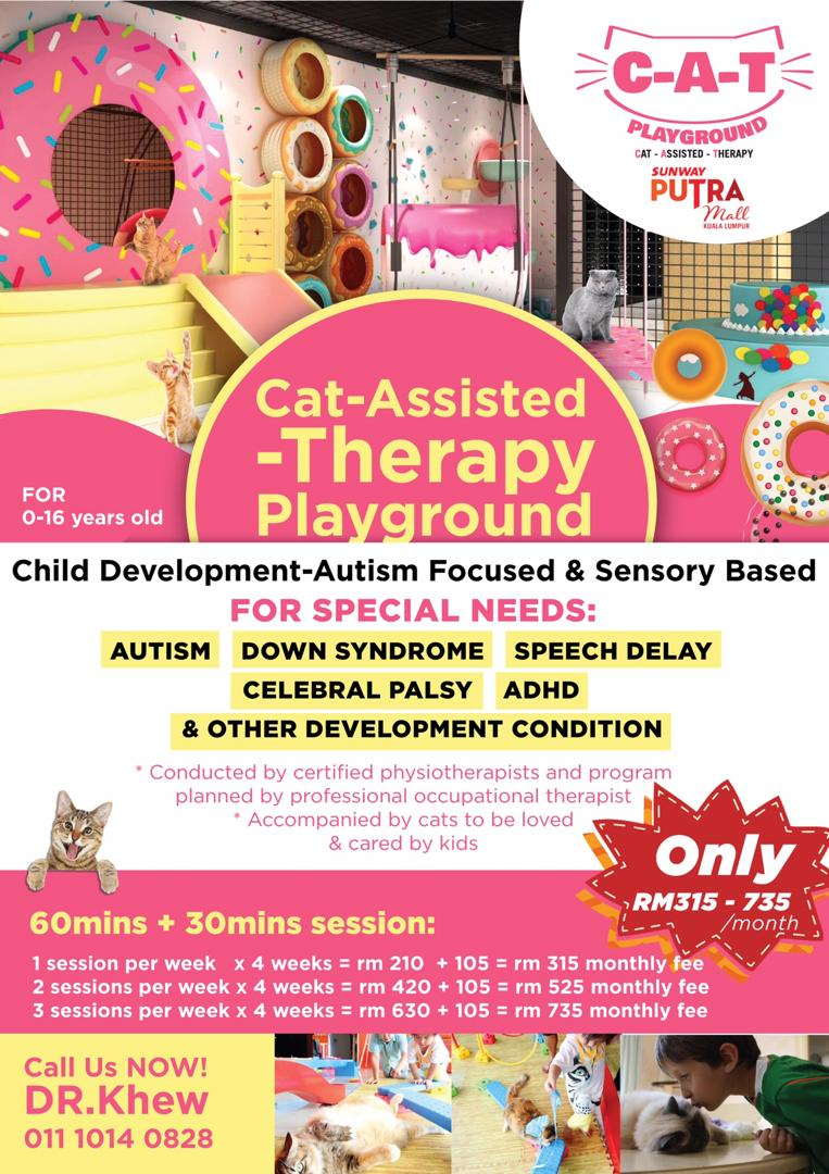 CAT-ASSISTED-THERAPY PLAYGROUND FOR SPECIAL NEEDS