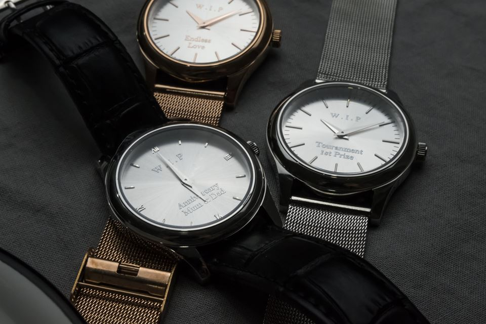 Personalised Watches Online – Watch In Process