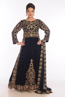Get discounts on Shopping Velvet Kaftans from Mirraw Online Store