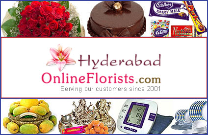 Send Best Regards and Compliment with Online Floral Gifts to Hyderabad
