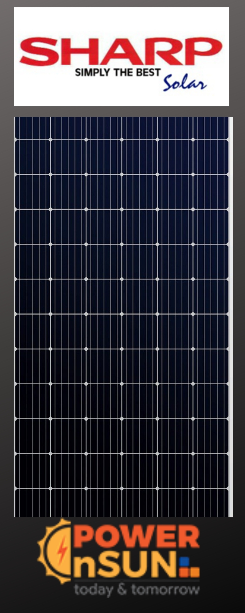 BUY SHARP SOLAR PANELS AT WHOLESALE PRICE FROM POWER N SUN