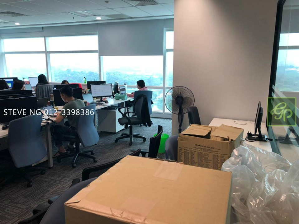 Q Sentral Office nearby LRT for Rent