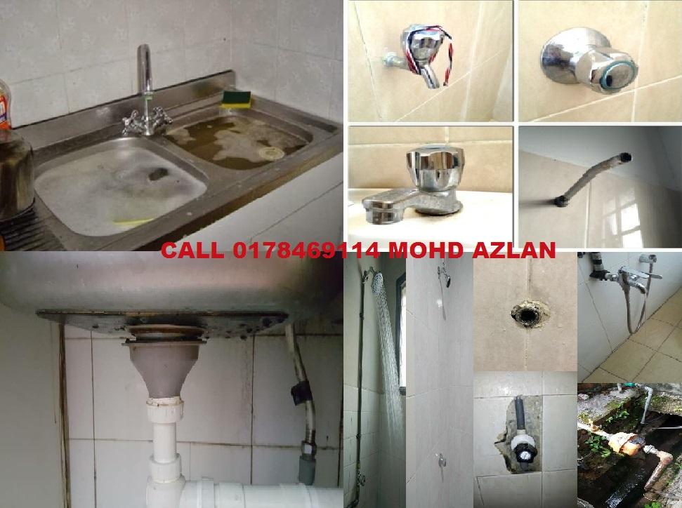 mohd azlan tukang paip plumber 0178469114 taman ibu kota