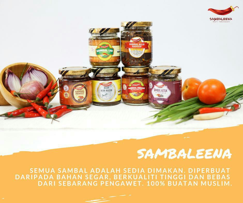 SAMBALEENA SEGERA – READY TO EAT – SET BORONG JIMAT