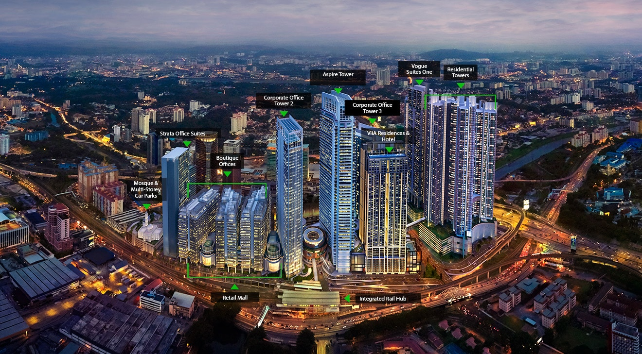 Strata Office Suites @KL Eco City for Rent