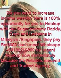 MEET AND HAVE FUN WITH RICH MOMMY/DADDY IN YOUR CITY RM6000 DAILY
