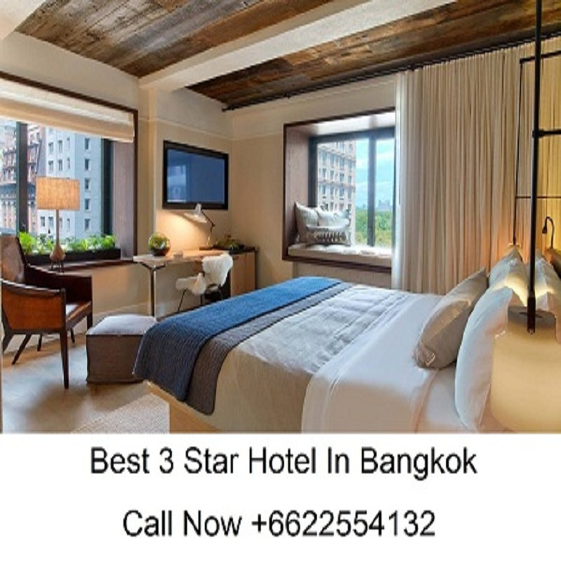 Book Your Rooms at the Best 3 Star Hotel in Bangkok