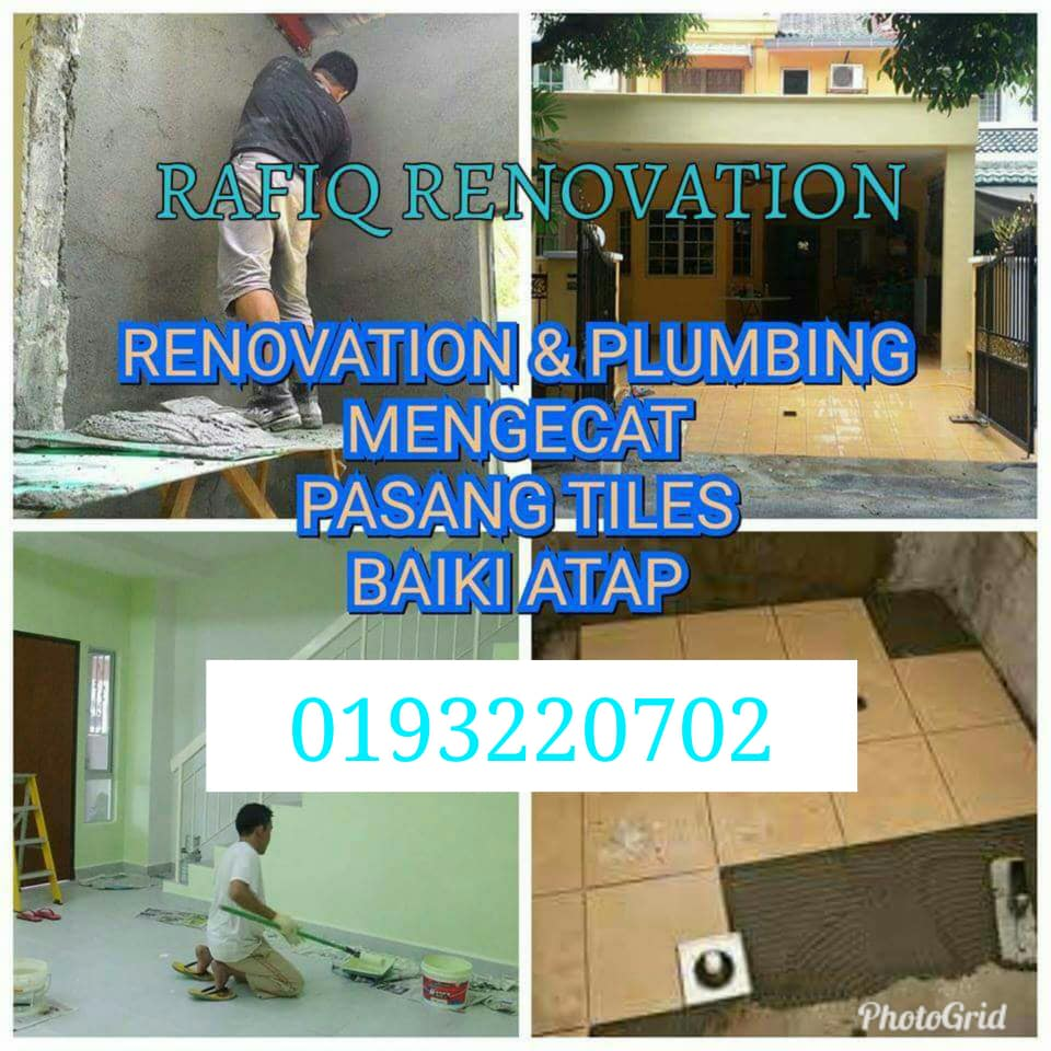 plumber plumbing tukang paip renovation
