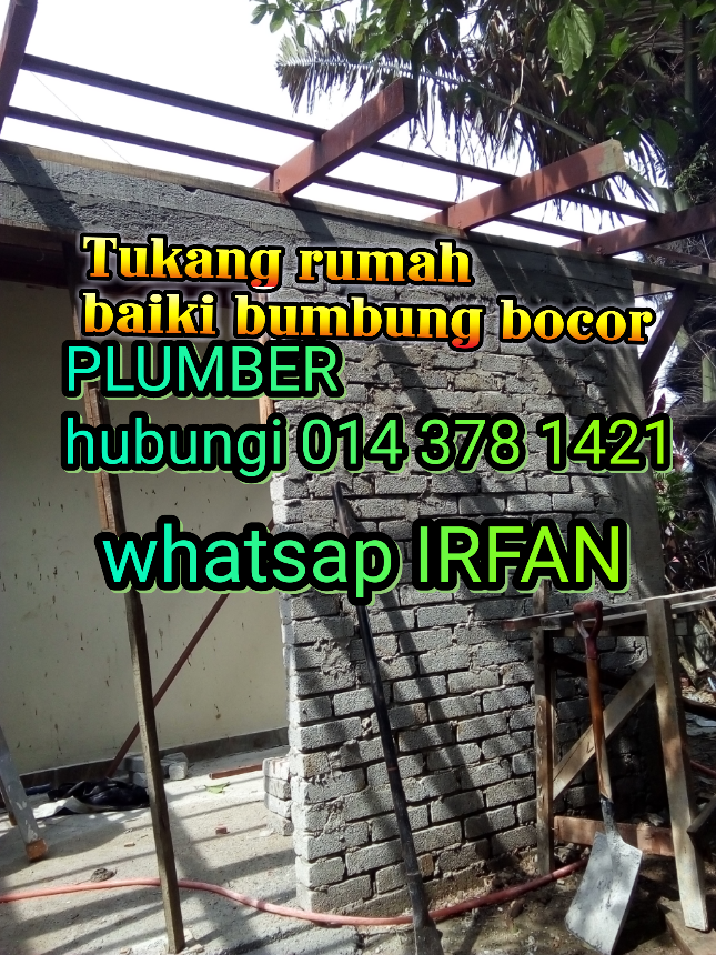 014-378 1421 KONTRAKTOR RENOVATION/PLUMBER/CAT PUNCAK ALAM