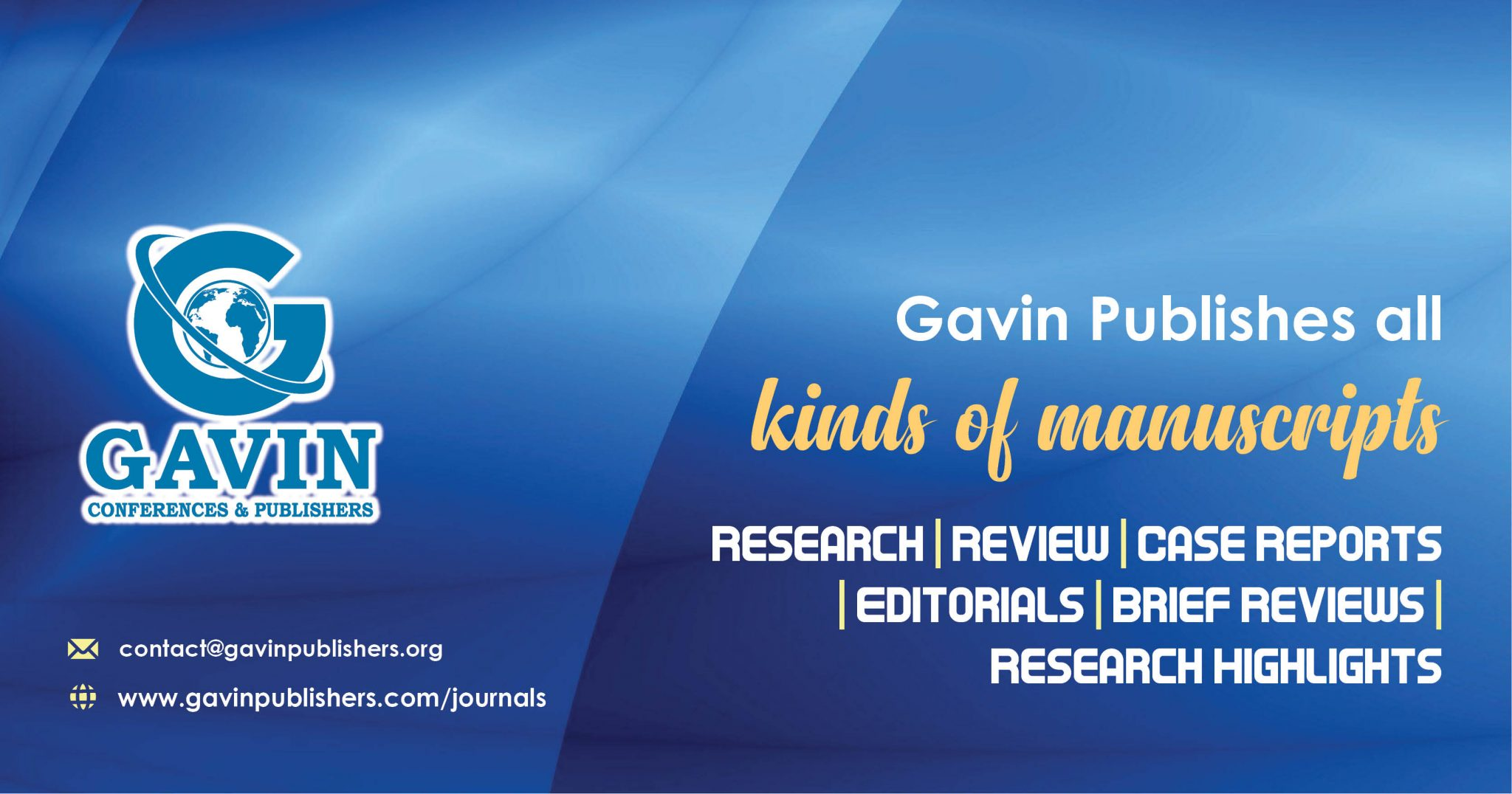 Open Access Journals  Gavin Publishers