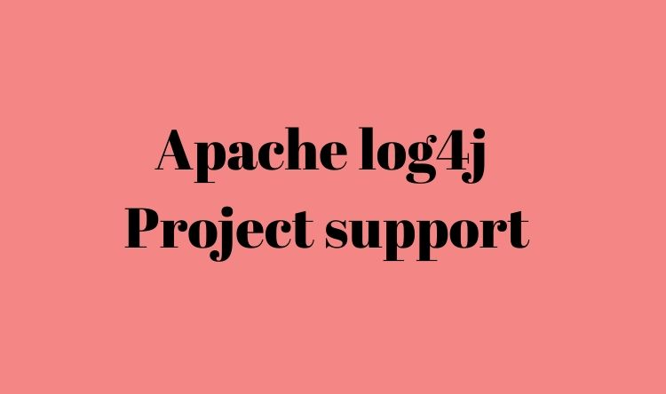 Apache log4j  Technical support