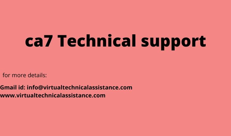 ca7  Technical support