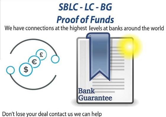 Project/Business Financing/BG-SBLC-MT760/Credit-Loan/Monetizing/MT799/Eurobonds