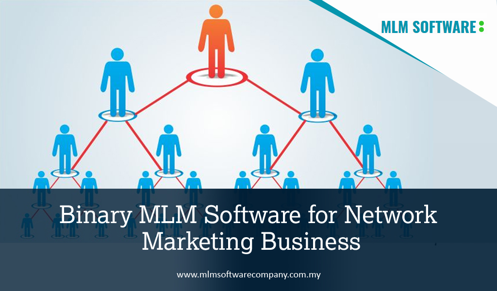 Binary MLM Software for Network Marketing Business
