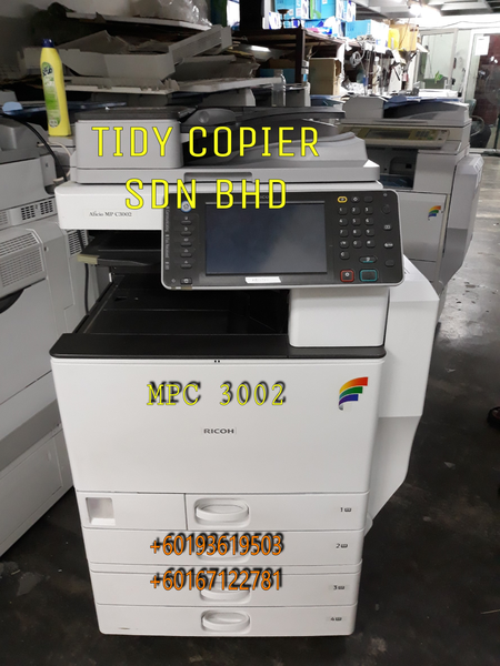 RICOH COLOR COPIER MPC 3002