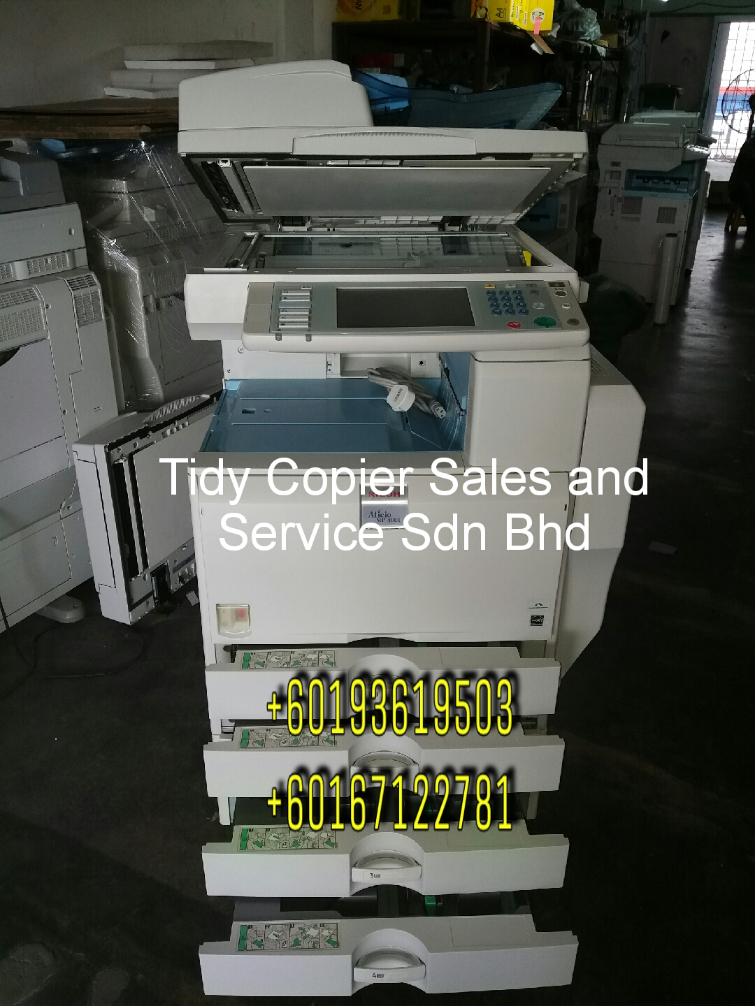 DIGITAL PHOTOCOPIER MACHINE MP 4001