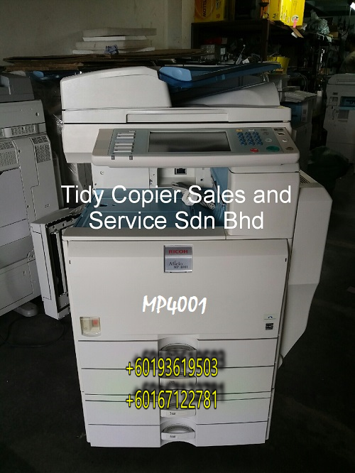 RICOH  BLACK/WHITE PHOTOCOPIER MP 4001