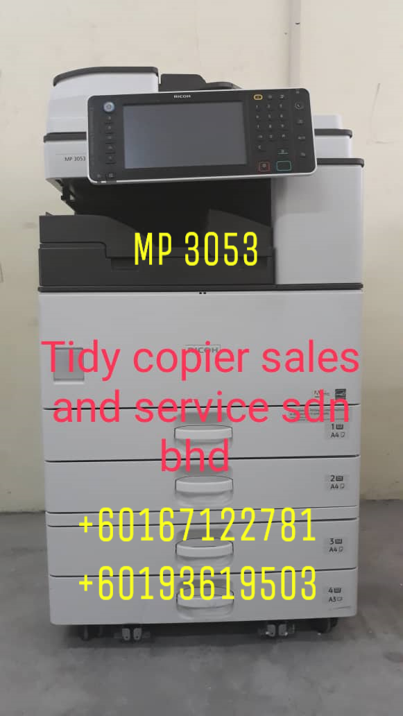 DIGITAL PHOTOCOPIER MACHINE MP 3053