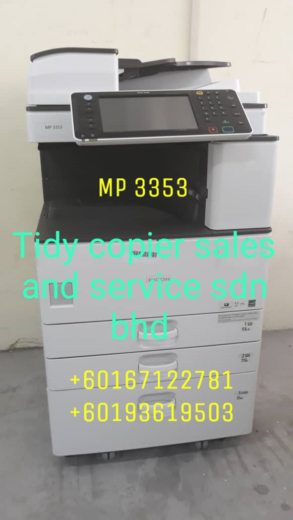 RICOH BLACK/WHITE PHOTOCOPIER MP 3353