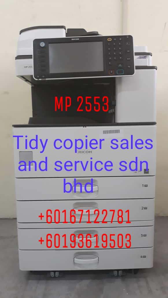 DIGITAL PHOTOCOPIER MACHINE MP 2553