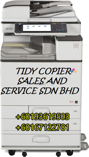 RICOH COLOR PHOTOCOPIER MPC 5503A