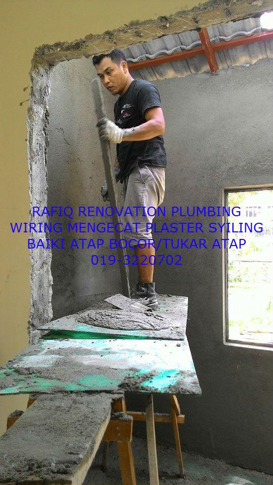 tukang paip plumber renovation
