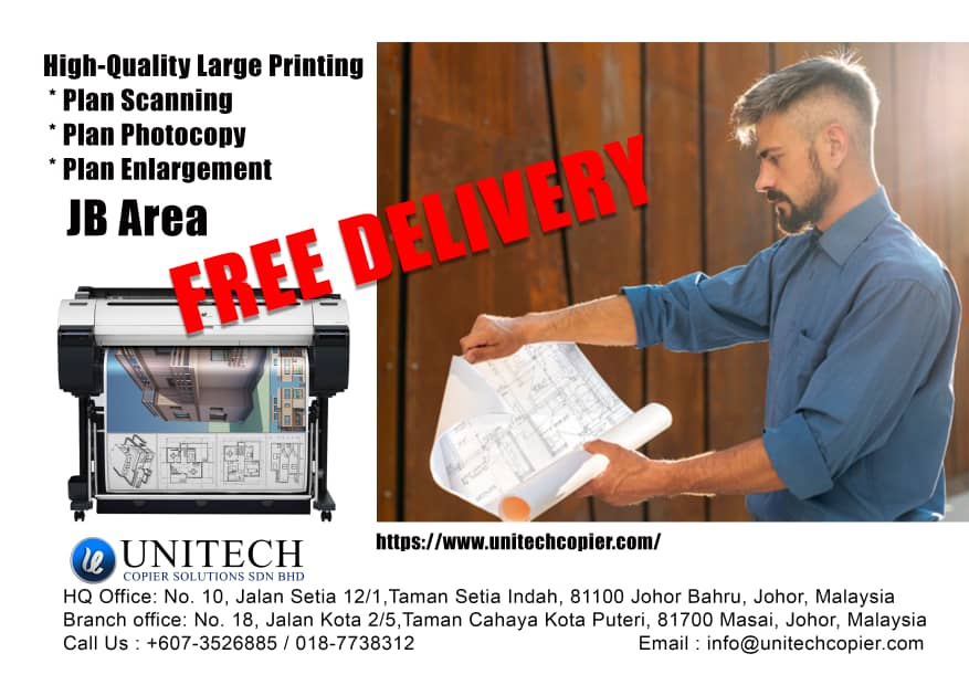 We have copier services are available including design