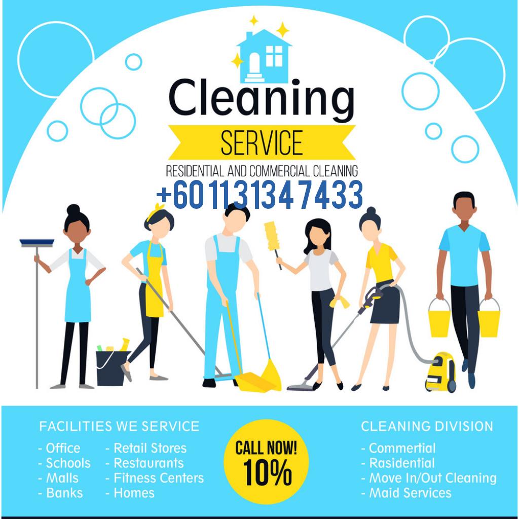 Home Cleaning, Khidmat Pembersihan