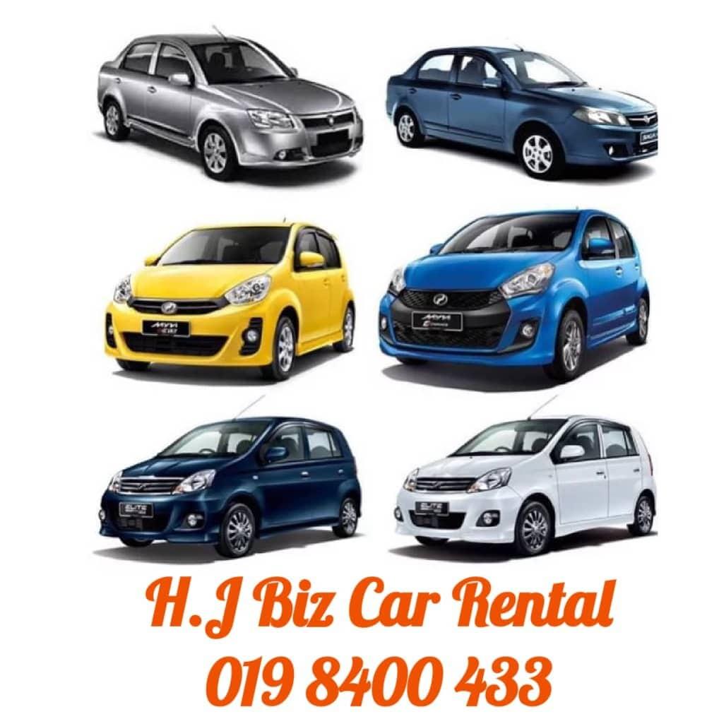 Car Rental/ Kereta Sewaan