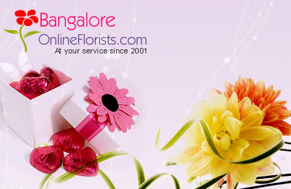 Shop for Best Online Flowers to Bangalore