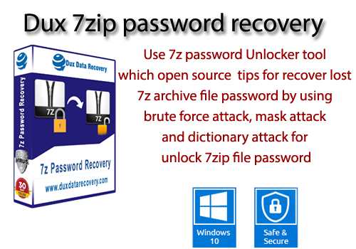 Recovery of 7z password