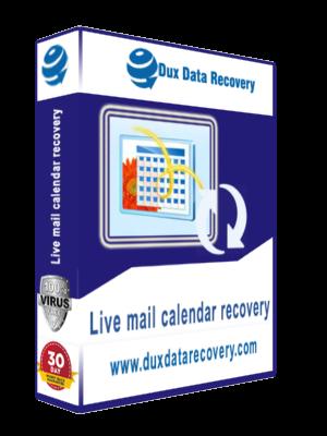 Recover live mail calendar