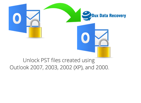 outlook pst file password Recovery