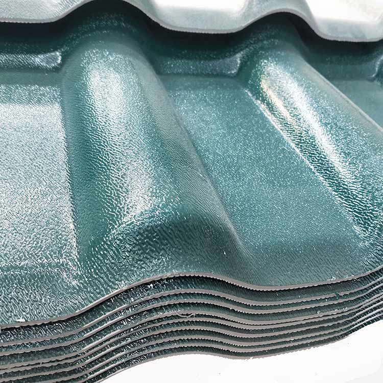 Utench asa synthetic resin roof tile